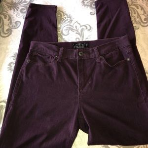 Lucky Brand velour jeans
